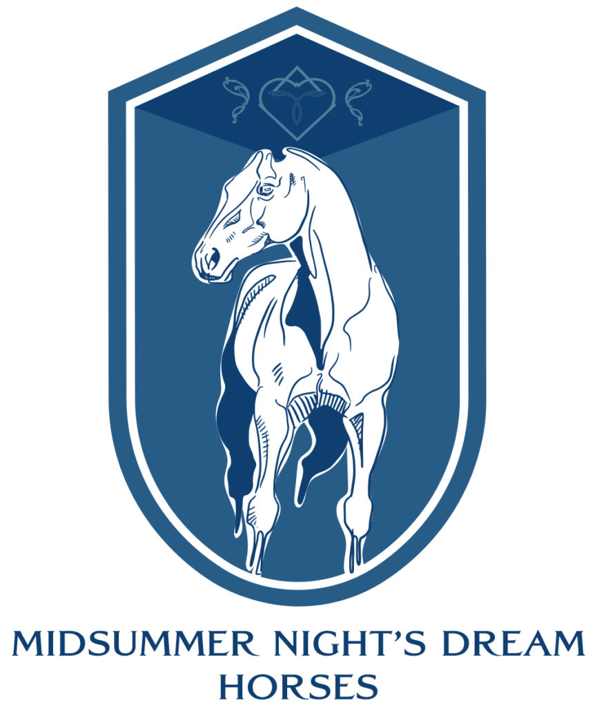 logo Midsummer Night's Dream Horses, élevage de paint-horses et de quarter-horses en Colombie-Britannique, Canada